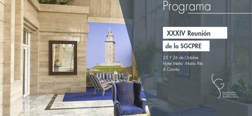 Programa – XXXIV Reunión de la SGCPRE